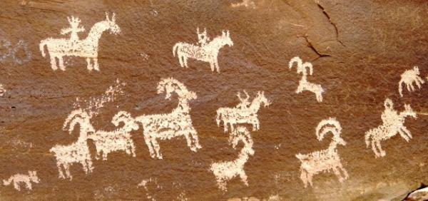 Indijanske poslikave