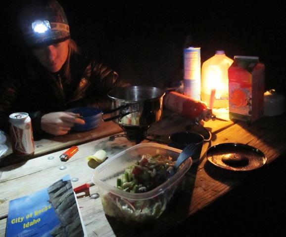 Večerje v kampih